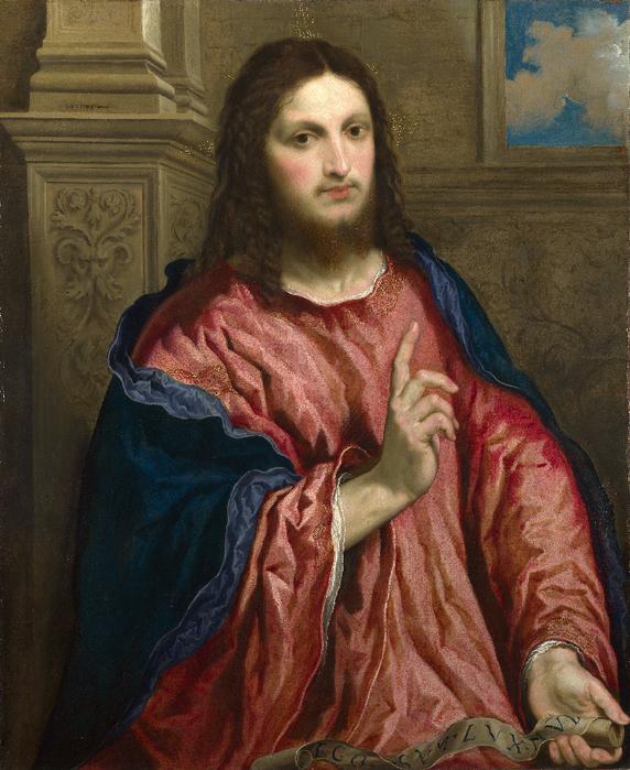 Paris_Bordone_-_Christ_as_'The_Light_of_the_World'_-_Google_Art_Project (572x700, 532Kb)