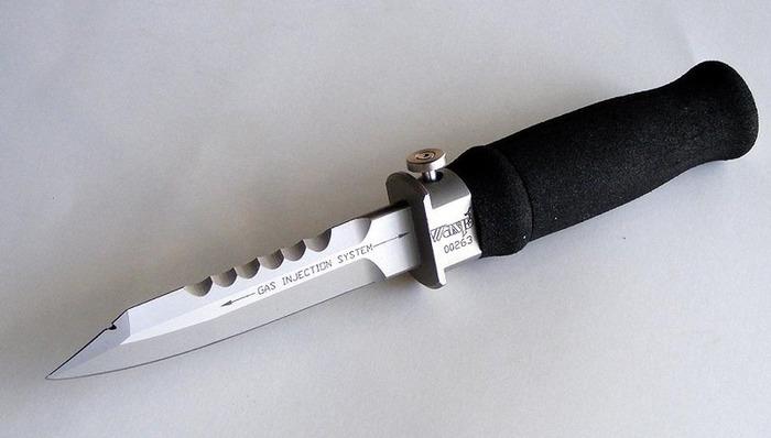 Нож для дайверов (6 фото)