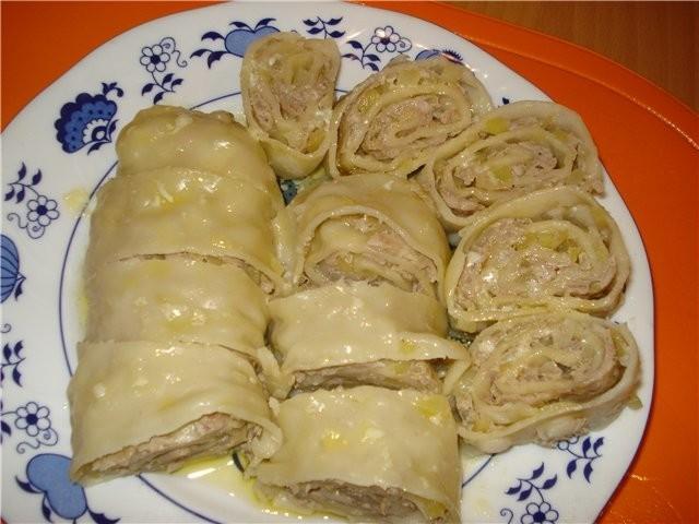 Блюда с тестом пошаговые рецепты с