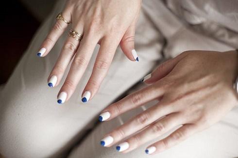 фото ногтей форма пайп