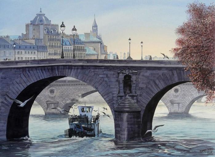 129771771 052616 0853 21 Весна в самых романтичных местах Европы. Нежные акварельные картины