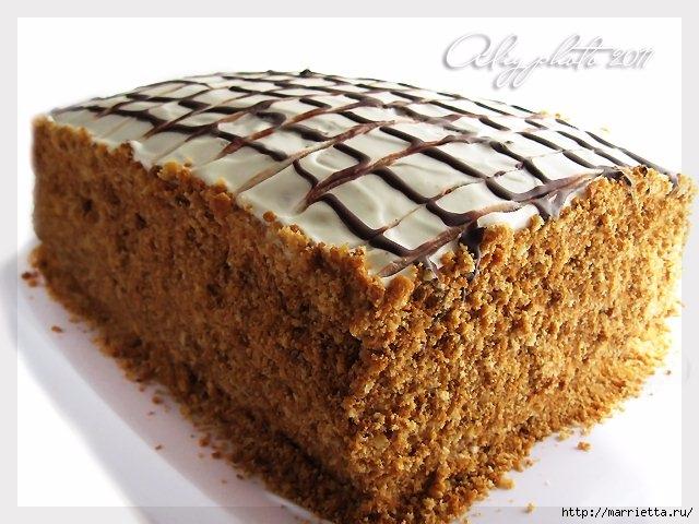Медовик без масла. Рецепт вкусного тортика (12) (640x480, 193Kb)