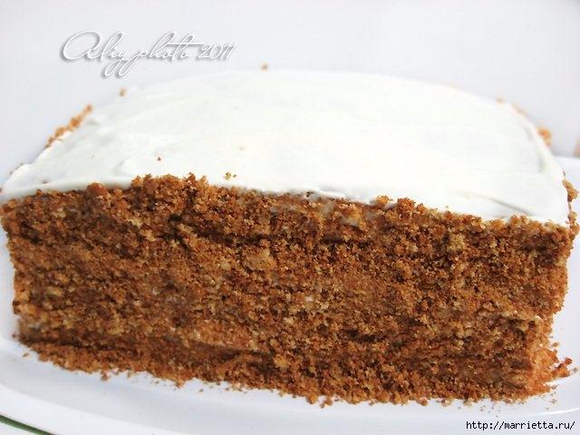 Медовик без масла. Рецепт вкусного тортика (20) (640x480, 163Kb)