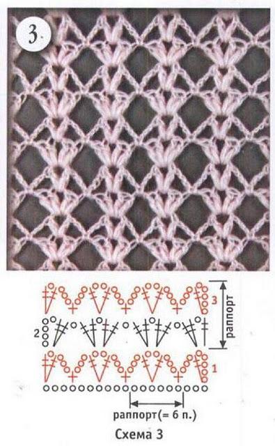 grilles pour une Г©tole ou un plaid printanier au crochet4 (395x640, 219Kb)