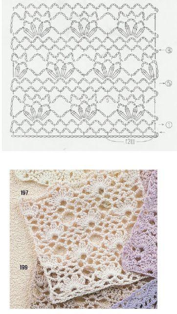 grilles pour une Г©tole ou un plaid printanier au crochet14 (362x640, 188Kb)