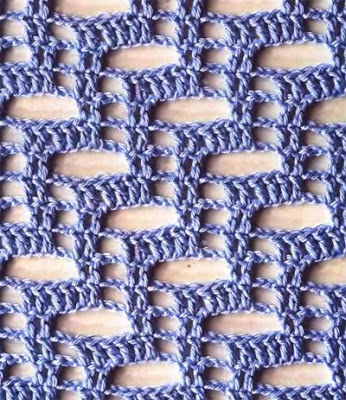 grilles pour une Г©tole ou un plaid printanier au crochet (346x400, 202Kb)