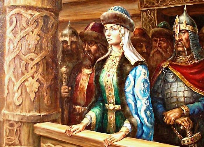 княгиня Ольга_1 (700x506, 456Kb)