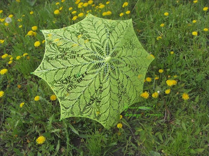 Зонт Салатовый (700x525, 579Kb)