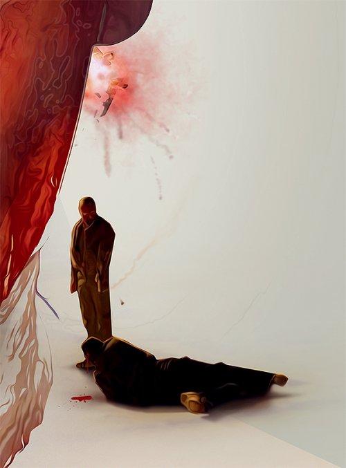 Постеры к любимым сериалам — графический дизайнер Адам Спизак
