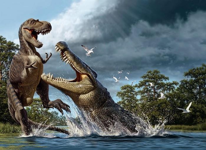Самые большие хищные динозавры в истории планеты
