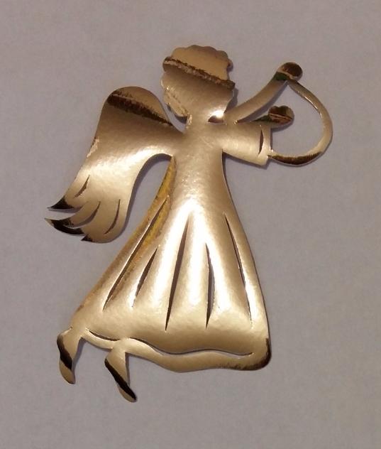 3. Сувенир. «Ангел с лирой» (537x632, 268Kb)