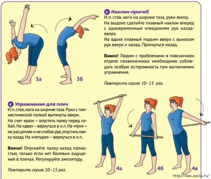 суставы упражнения