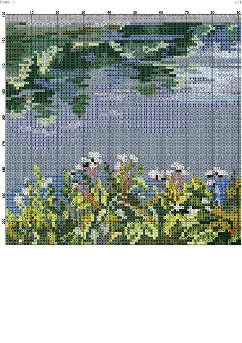 Березы у реки-005 (494x700, 378Kb)