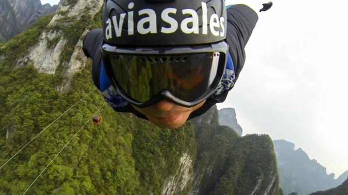Во время экстремального прыжка погиб бейсджампер Ратмир Нагимьянов