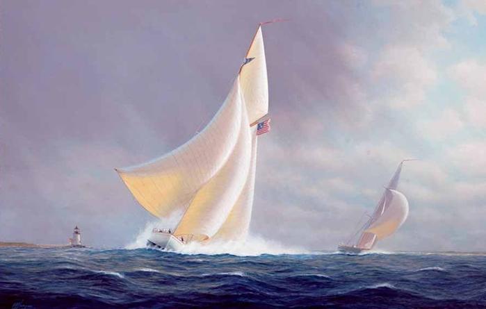 Tim Thompson 1951 - British Seascapes painter - Tutt'Art@ (3) (700x445, 190Kb)