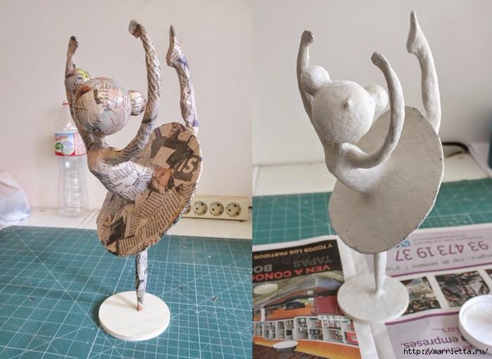Как сделать статуэтки из папье маше