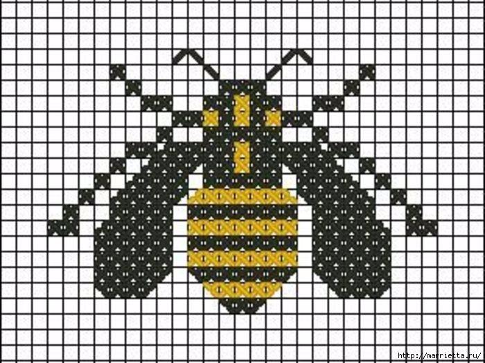 Красивая вышивка для украшения баночек с медом (2) (700x524, 254Kb)