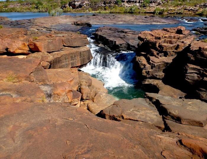 Многоуровневый водопад Митчелл, Австралия
