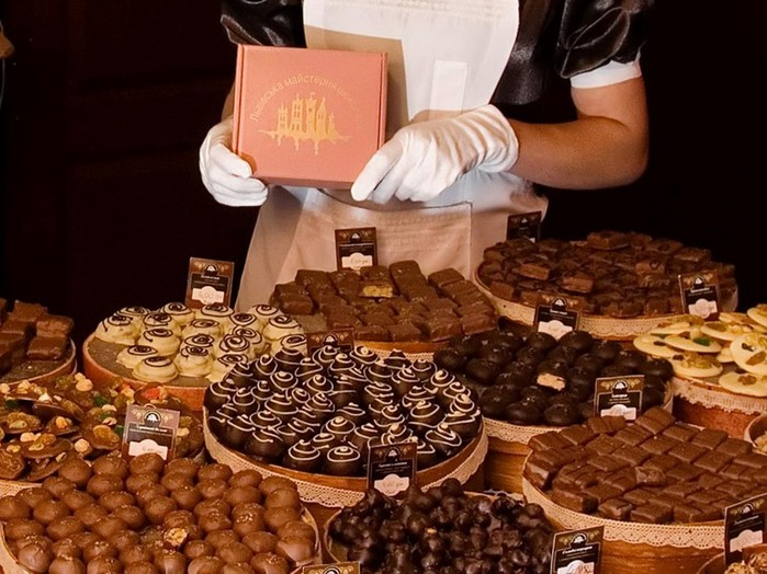 Где появились первые конфеты?
