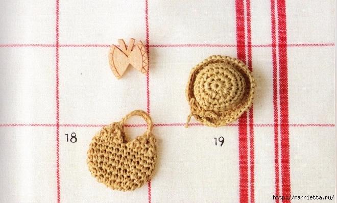 Схемы вязания шляпки и сумочки для куколки амигуруми (3) (660x398, 218Kb)