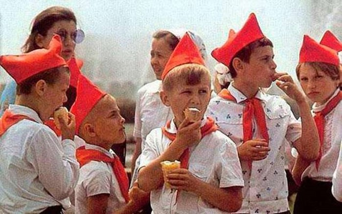 What was ice cream in the USSR