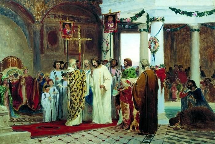 Русская культура началась в 988 году?