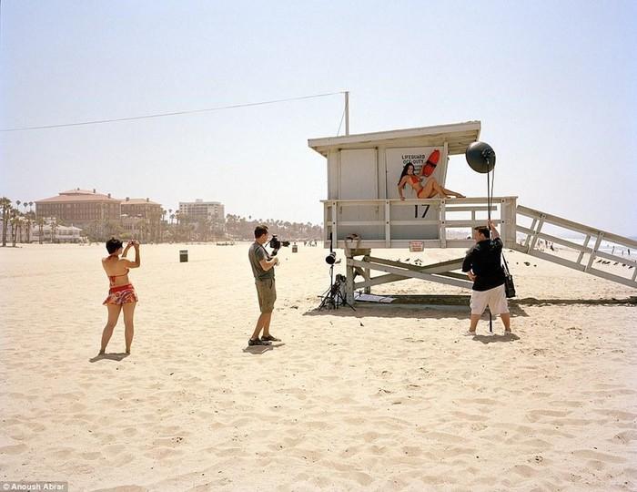 Фотографии девушек, которые приехали работать в Голливуд