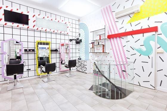 Дизайн салона красоты в Любляне, Словения
