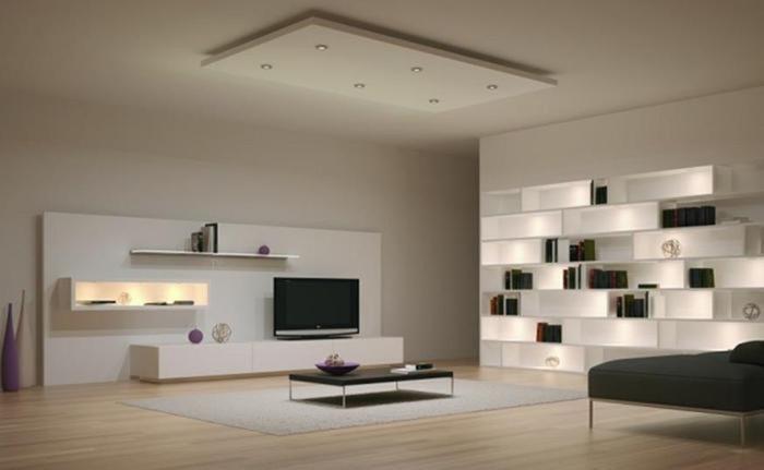 30 великолепных идей дизайна современных полок