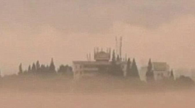 Фантастика! Город призрак появился в Китае на реке Синьань