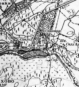 Рис.2.2.2.3 Архангельское Московской области даже в 30-е годы было небольшим поместьем (311x341, 158Kb)