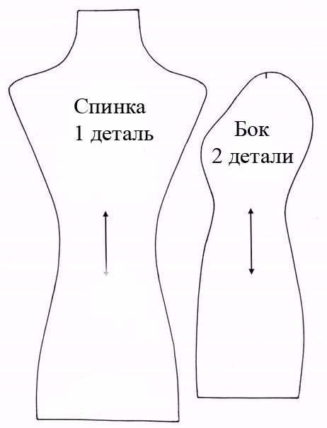Как сделать маленький манекен своими руками