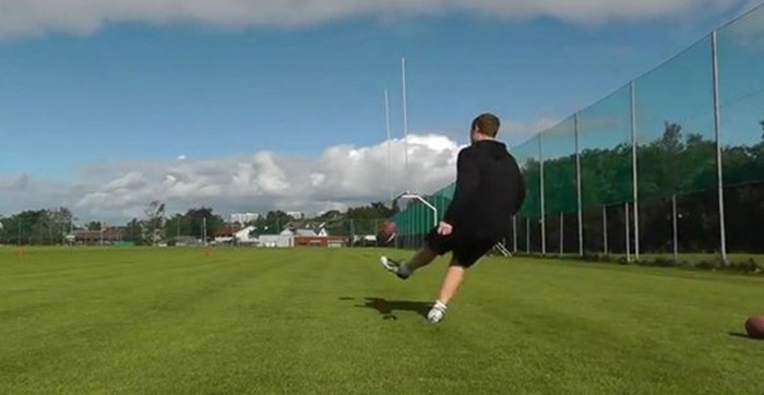 Видео. Потрясающие удары по мячу норвежца Ховарда Ругланда