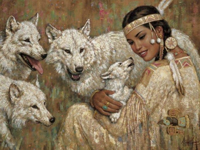 Волки (690x517, 100Kb)