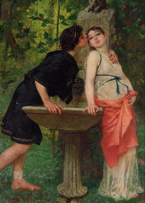 lovers-by-a-fountain-modesto-faustini- (500x700, 356Kb)