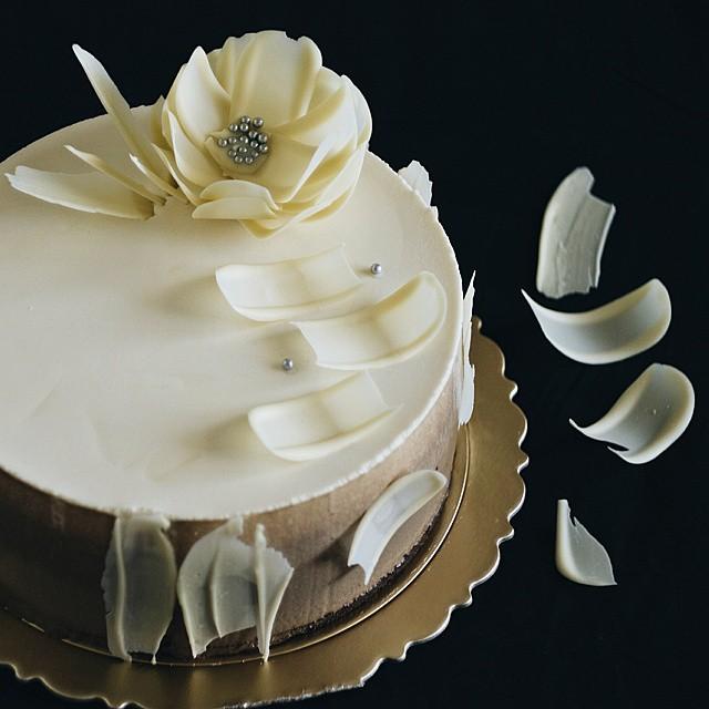 Как сделать декор из шоколада для торта