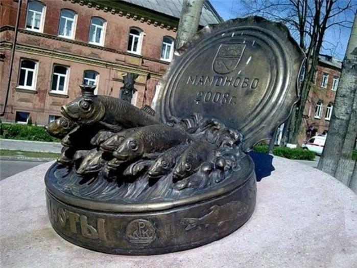 Интересные памятники продуктам в России