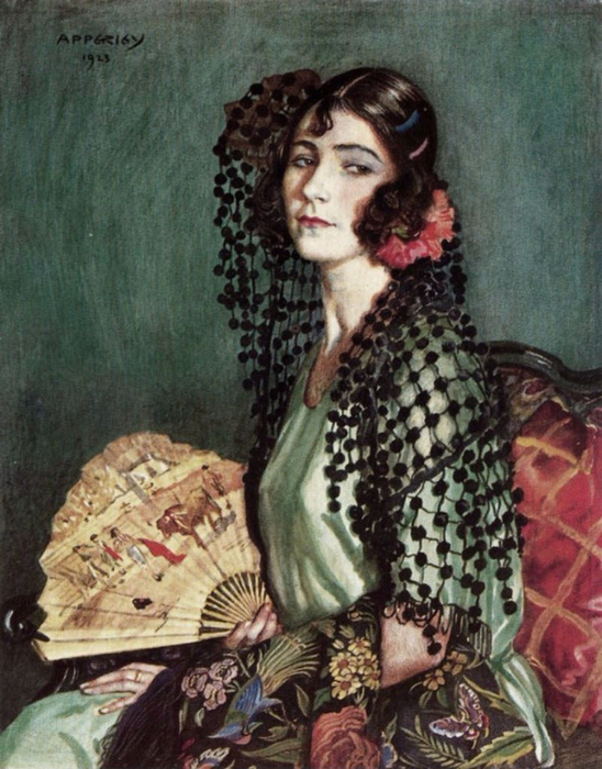 George Owen Wynne Apperley5 (548x700, 428Kb)