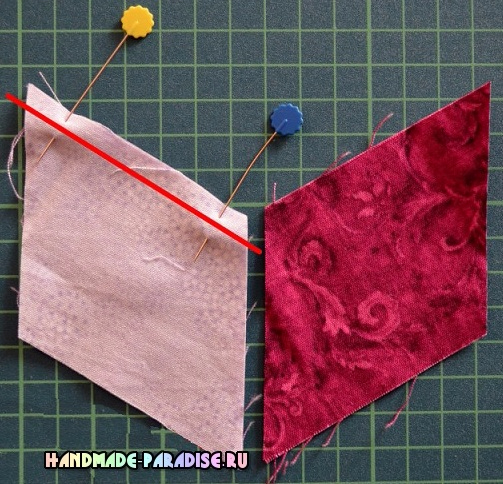 Лоскутное одеяло «Кубики» в технике пэчворк (4) (503x484, 317Kb)