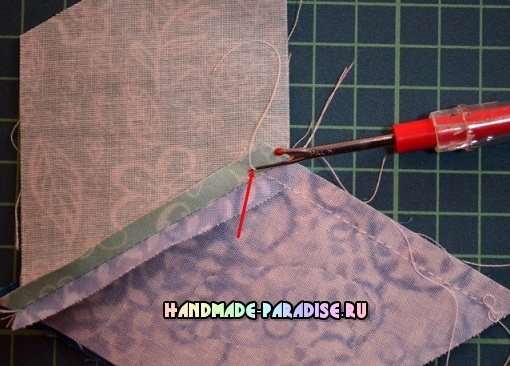Лоскутное одеяло «Кубики» в технике пэчворк (8) (510x366, 218Kb)