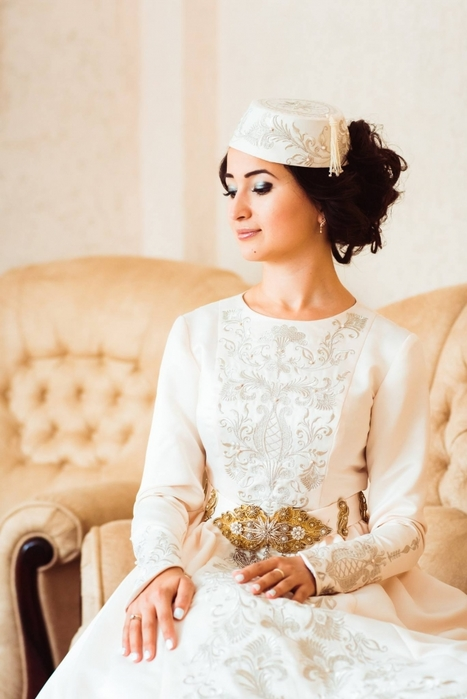 Свадебные татарские платья 275