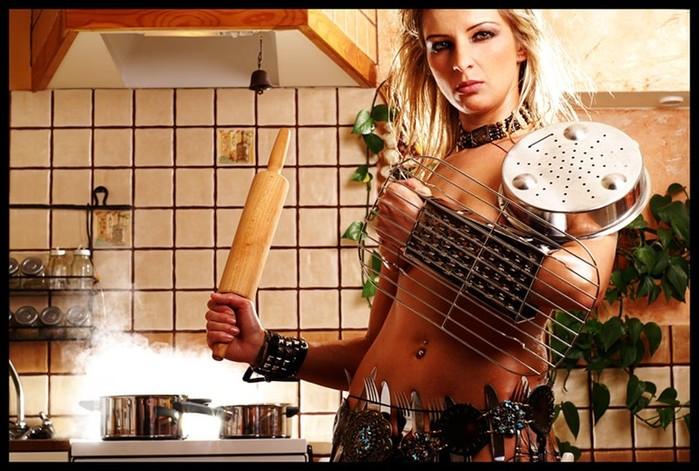 Такая женщина в хозяйстве пригодится!