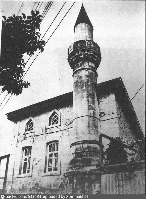 Бахчисарай. Мечеть Молла Мустафа (514x700, 252Kb)