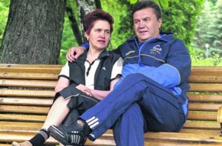 Янукович сообщил о разводе и новой супруге