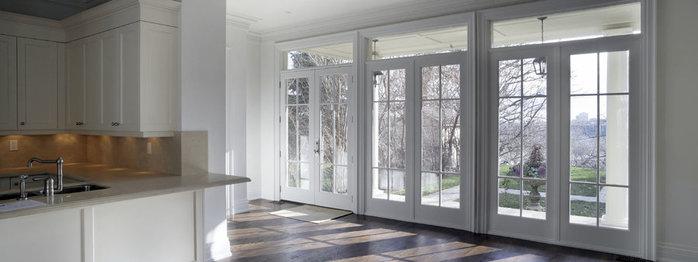 Окна и двери   не замечаем, пока всё хорошо