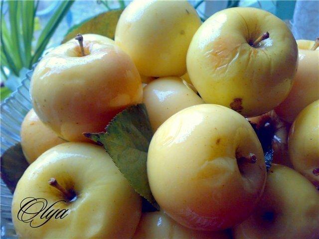 Яблоки моченые на зиму - рецепт с фото | Чудо-Повар