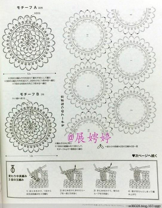 Вязание крючком. Пуловер мотивами со схемами вязания./3071837_333 (543x699, 134Kb)