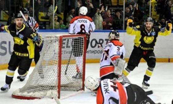 Отчет о матче плей-офф ВХЛ «Сарыарка»— «Ермак» 2:1 ОТ