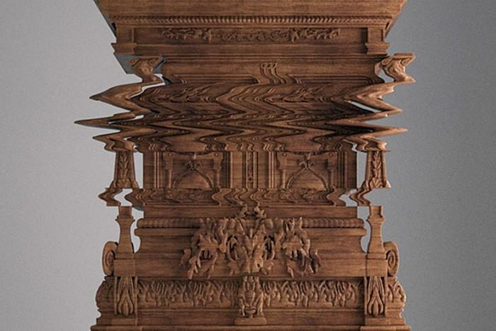 Шкаф с глюками архитектора Феррицио Лавиани