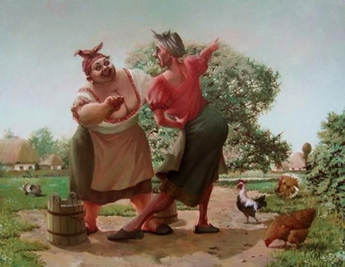 Толстушки художника Александра Иванова